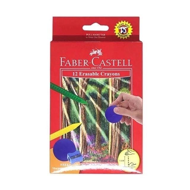 Faber Castell 12 Erasable Crayons 1