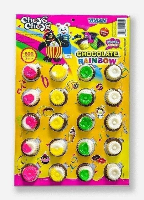 Yosan Choyo Choyo Chocolate Rainbow 1