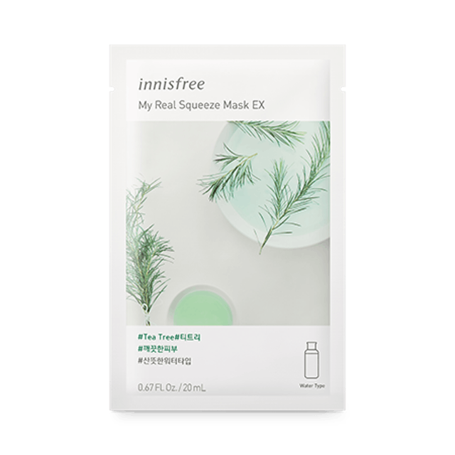 Innisfree My Real Squeeze Mask EX [Tea Tree]  1