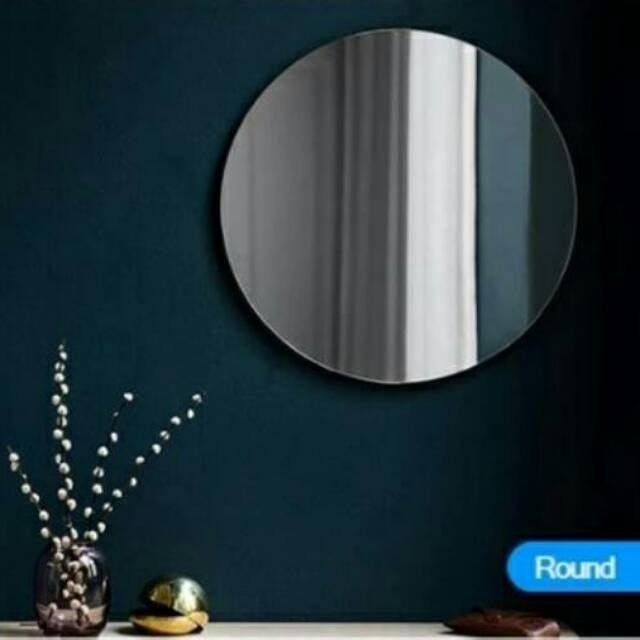 Cermin Lingkaran Tanpa Bingkai  1