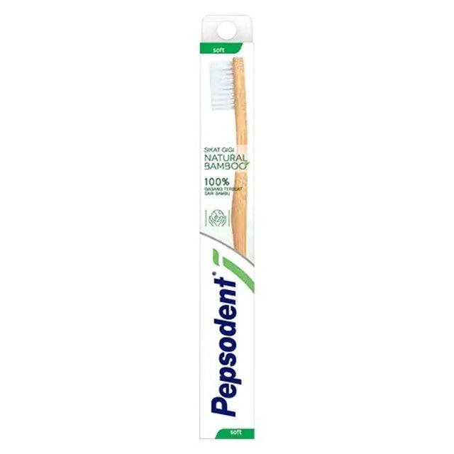 Unilever Sikat Gigi Pepsodent Bamboo Soft 1