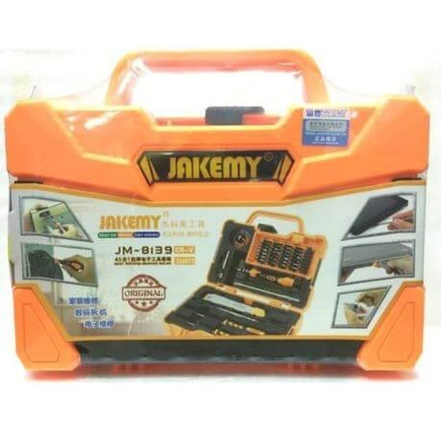 Jakemy 45 In 1 Anti-Drop Electronic Tool Screwdriver Set  1