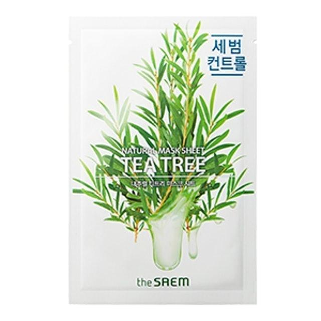 The SAEM Natural Tea Tree Mask Sheet 1