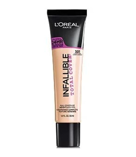 L'Oreal  Infallible Total Cover Foundation 1