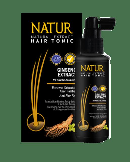 Natur Hair Tonic Gingseng Extract 1