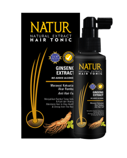 Natur Hair Tonic Gingseng Extract 1