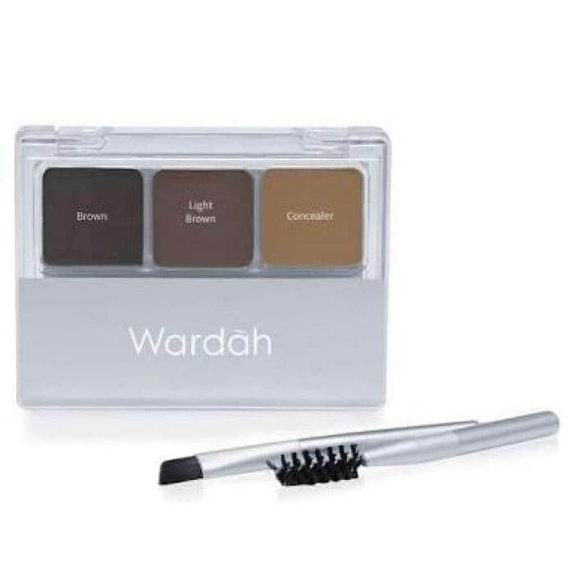Wardah  EyeXpert Eyebrow Kit 1