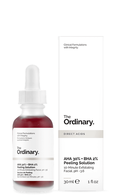 The Ordinary  AHA 30% + BHA 2% Peeling Solution 1