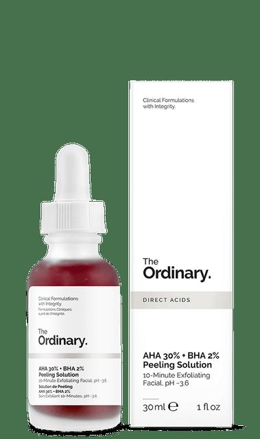 The Ordinary  AHA 30% + BHA 2% Peeling Solution 1