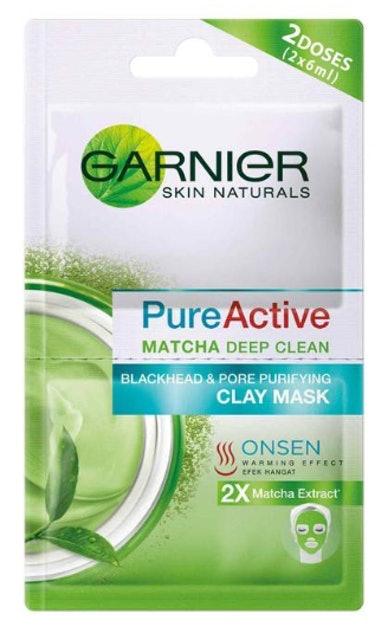 Garnier  Pure Active Matcha Clay Mask 1