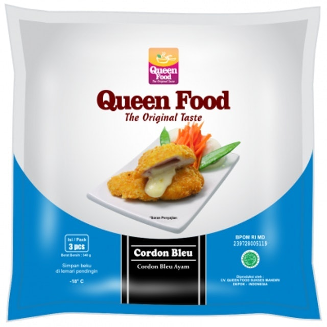 Queen Food Chicken Cordon Bleu  1