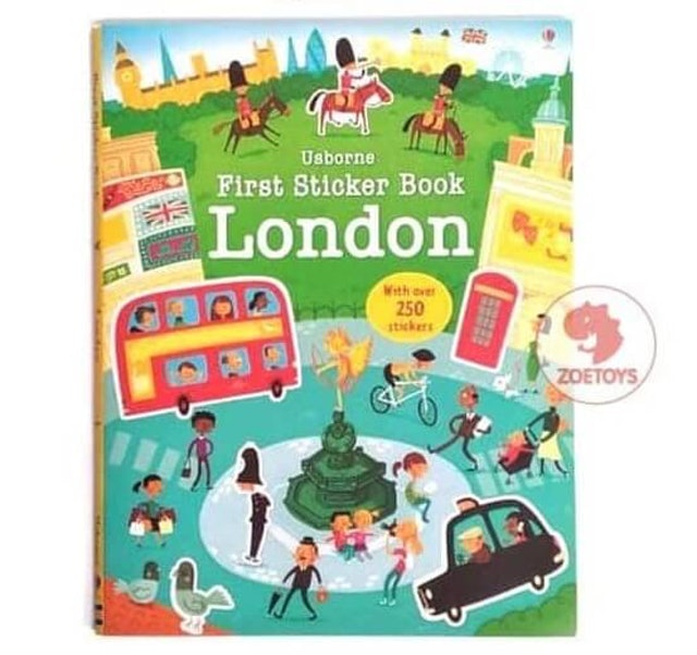 Zoetoys  Usborne First Sticker Book 1