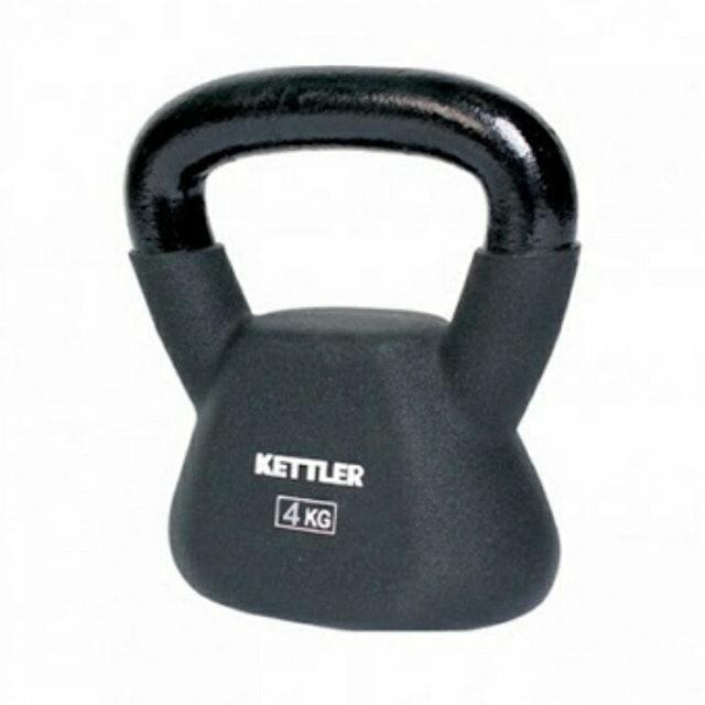 KETTLER Dumbell Kettlebell 4 kg 1