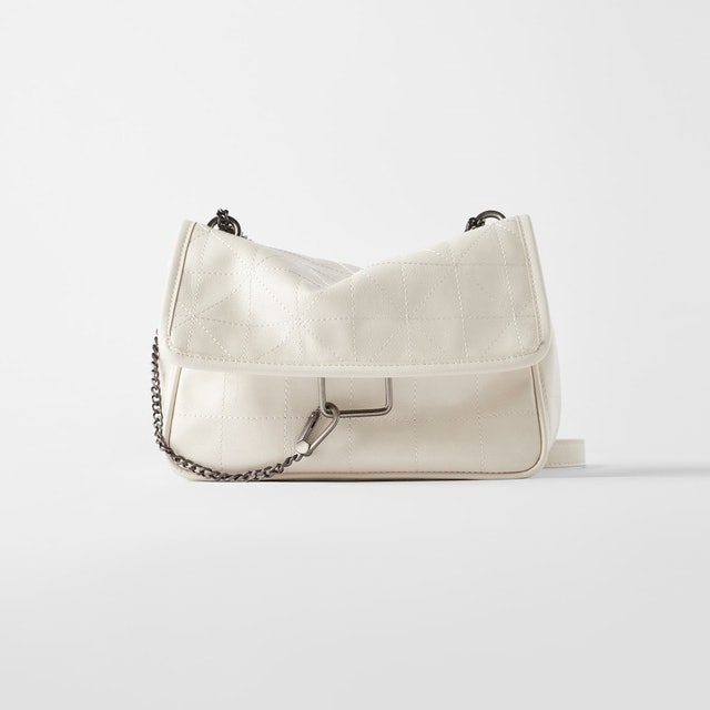 Zara Soft Rocker Crossbody Bag 1