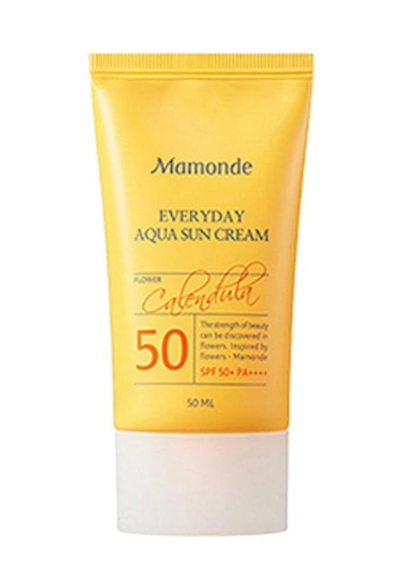 Mamonde  Everyday Aqua Sun Cream SPF50+/PA++++ 1