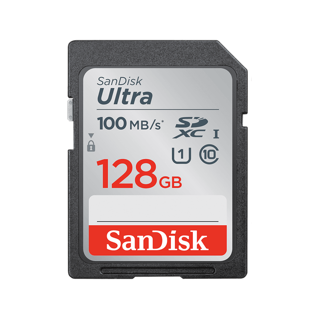 SanDisk SanDisk Ultra SDHC/SDXC Memory Card 128 GB 1