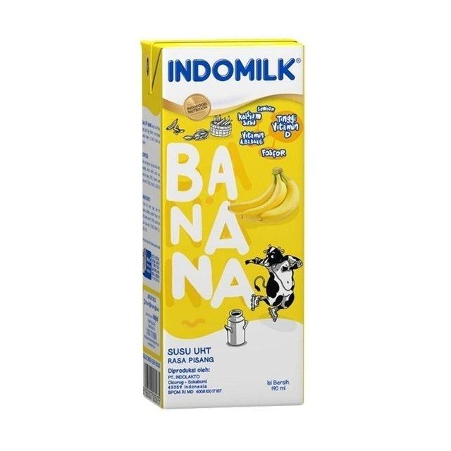 Indomilk  Susu UHT Banana Blast 1