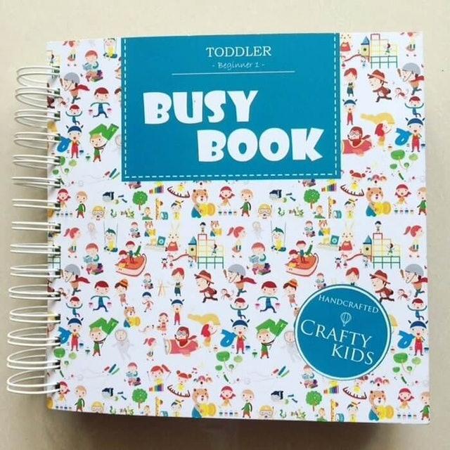 Crafty Kids  Busy Book 1