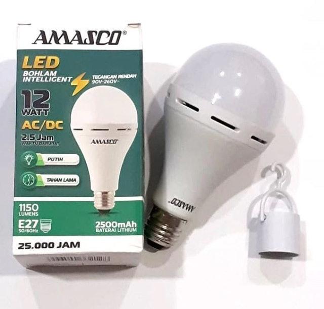 AMASCO Intelligent LED Bohlam Lampu 12 Watt 1