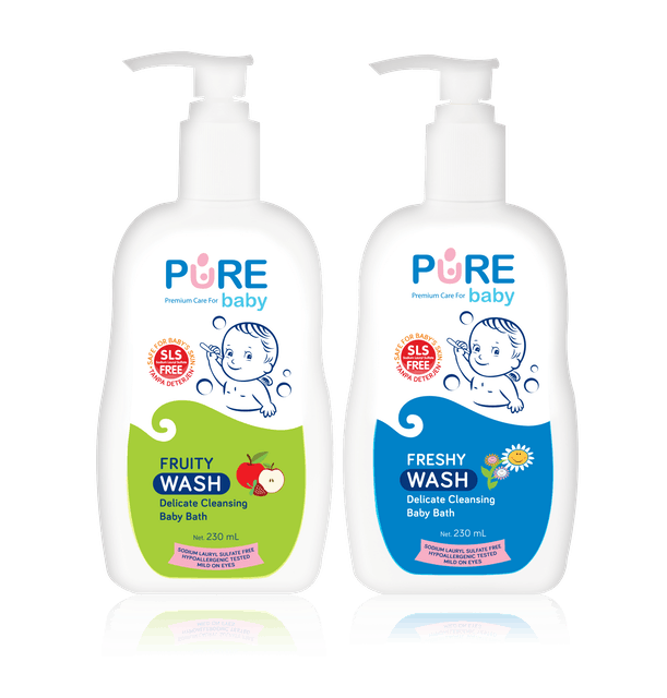 Purebaby  Wash 1
