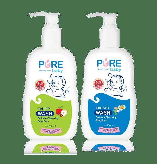 Purebaby  Wash 1
