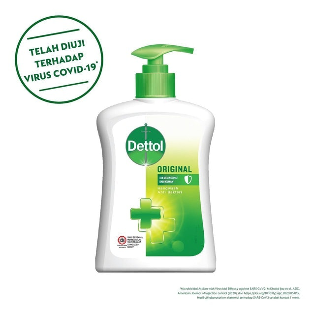 Reckitt Benckiser Sabun Cuci Tangan Anti Bakteri Dettol Original 1