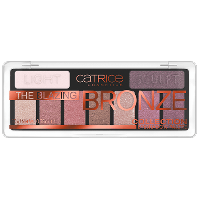 Catrice The Blazing Bronze Collection Eyeshadow Palette 1