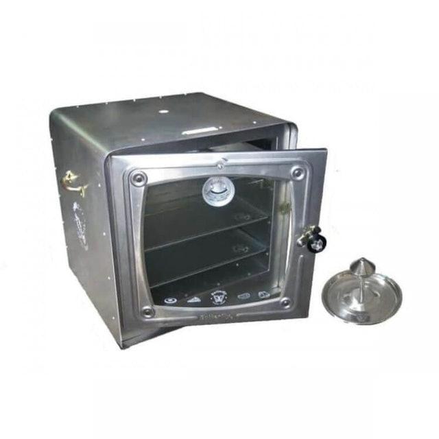 Butterfly  Oven Aluminium 1