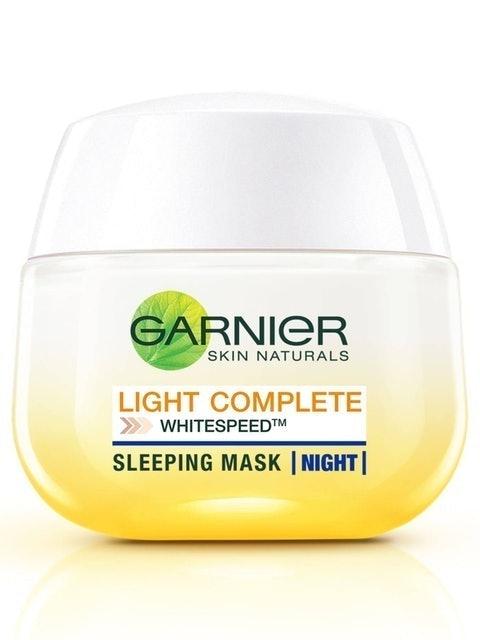 Garnier  Light Complete Night Yoghurt Sleeping Mask 1