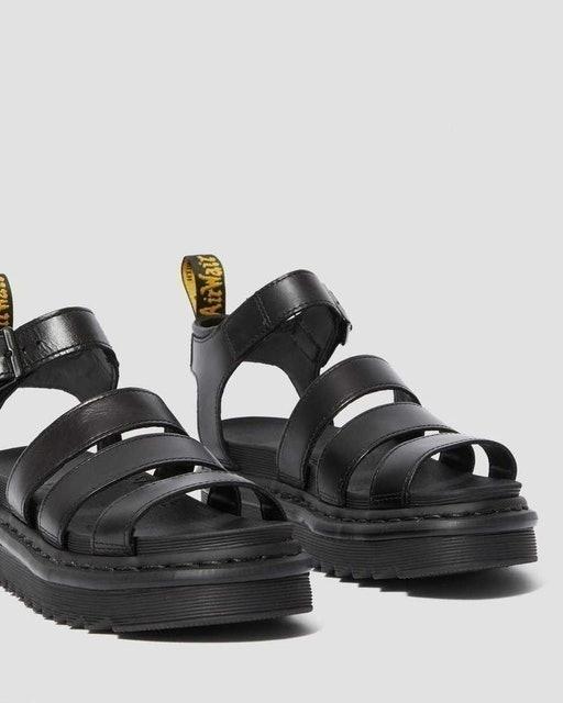 AirWair Dr. Martens Blaire Women's Brando Leather Gladiator Sandals 2