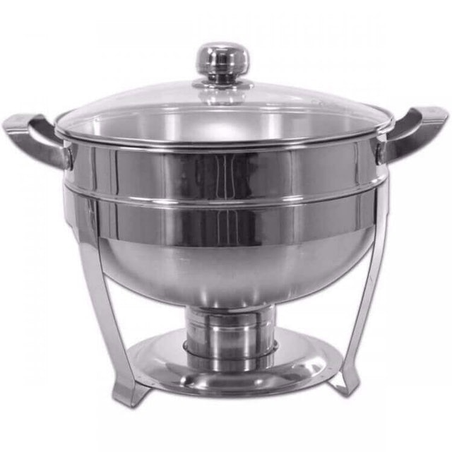 Supra  Stainless Steel Round Warmer Deep Bowl 28 cm 1