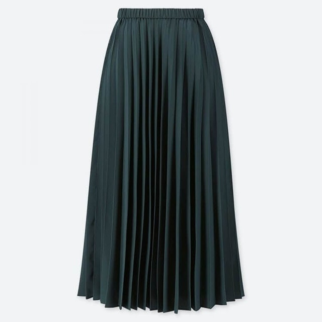 Uniqlo  Women Pleated Long Skirt 1