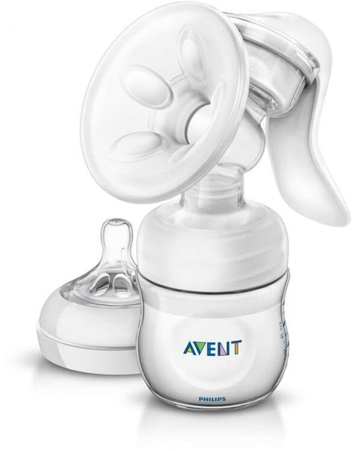 Philips Avent Manual Breast Pump with Bottle  1