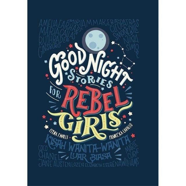 Elena Favilli dan Francesca Cavallo Good Night Stories for Rebel Girl 1