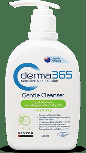 Derma365  Gentle Cleanser  1