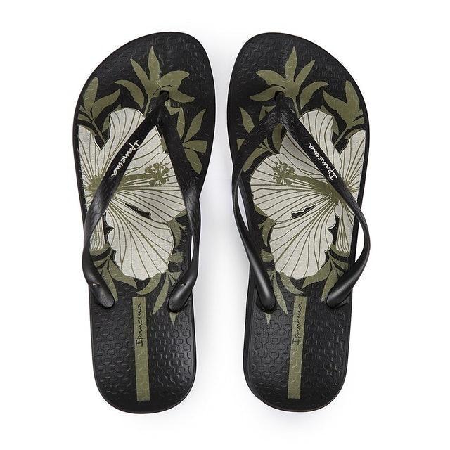 Ipanema  Ladies Flip Flop & Sandal Wanita - Anatomica Temas IX Fem Black 1