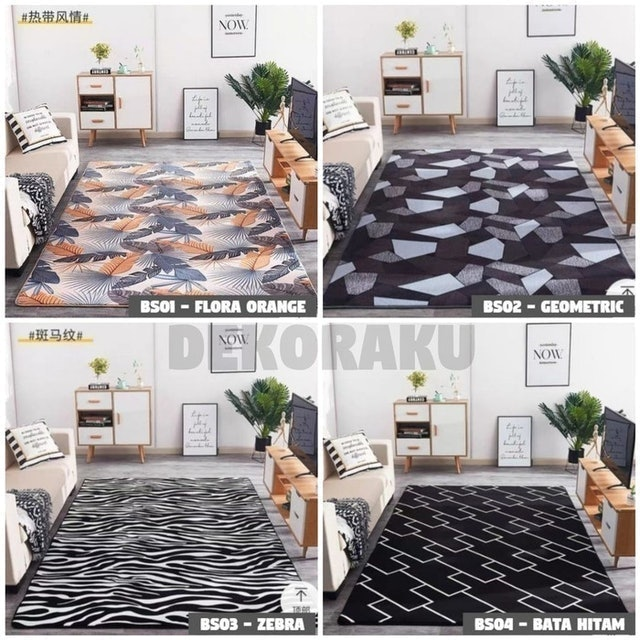 Karpet Bludru Super Lembut Anti Slip 1