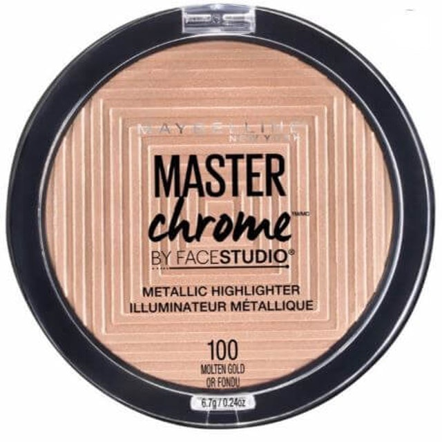 Maybelline  Facestudio Master Chrome Metallic Highlighter Makeup 1