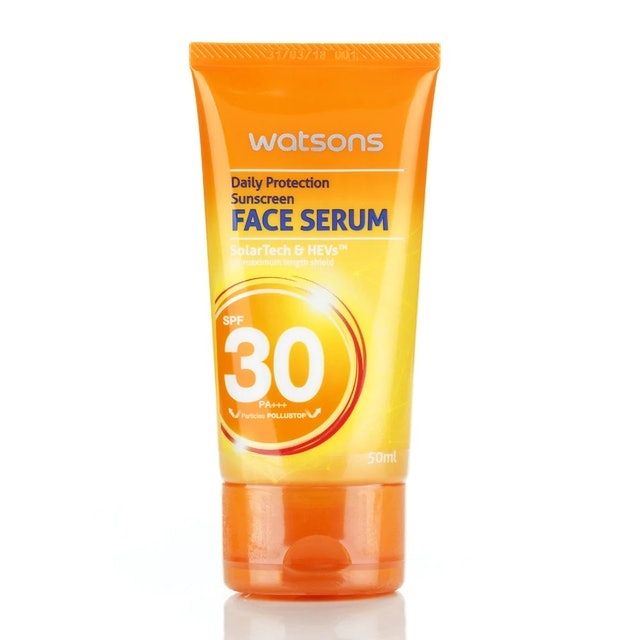 Watsons  Daily Protection Sunscreen Face Serum SPF30 1