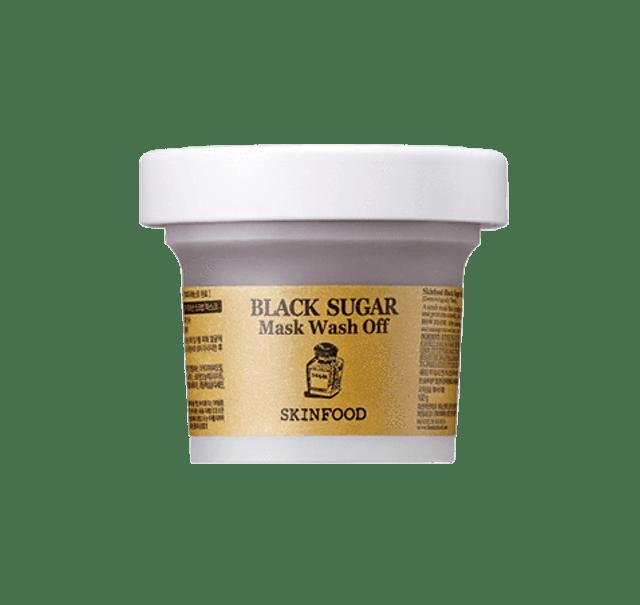 SkinFood  Black Sugar Mask Wash Off 1