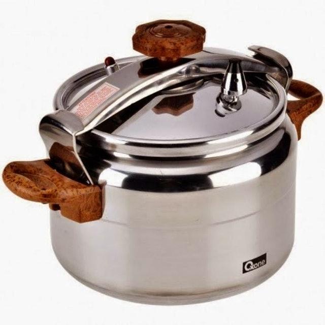 Oxone  ALUPRESS Alumunium Pressure Cooker - 4Lt 1