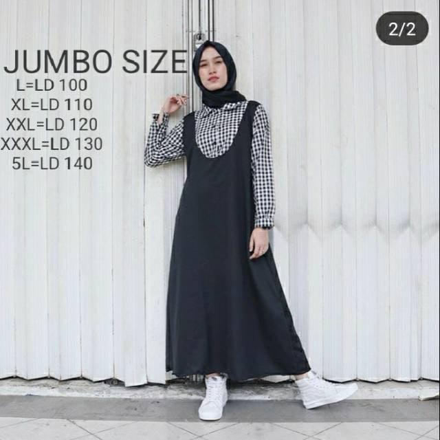 Nina Dress Gamis Jumbo 1