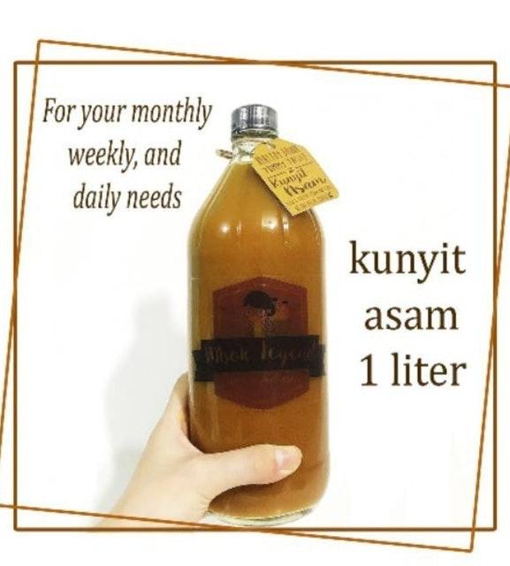 Mbok Legend Jamu Kunyit Asam 1 Liter 1