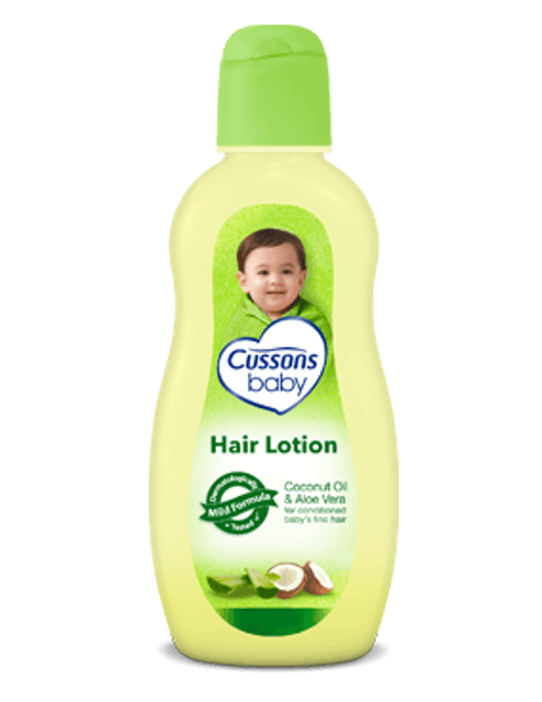 Cussons Baby Hair Lotion Coconut Oil & Aloe Vera 1