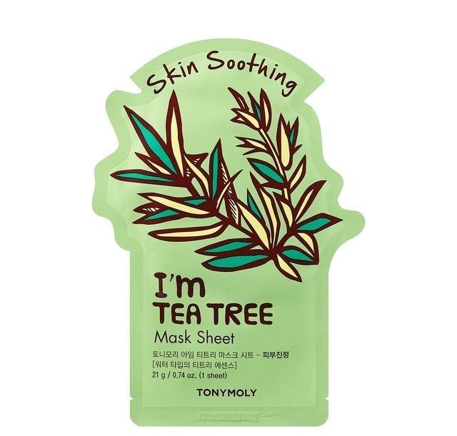 Tony Moly I'm Real Sheet Mask Tea Tree  1