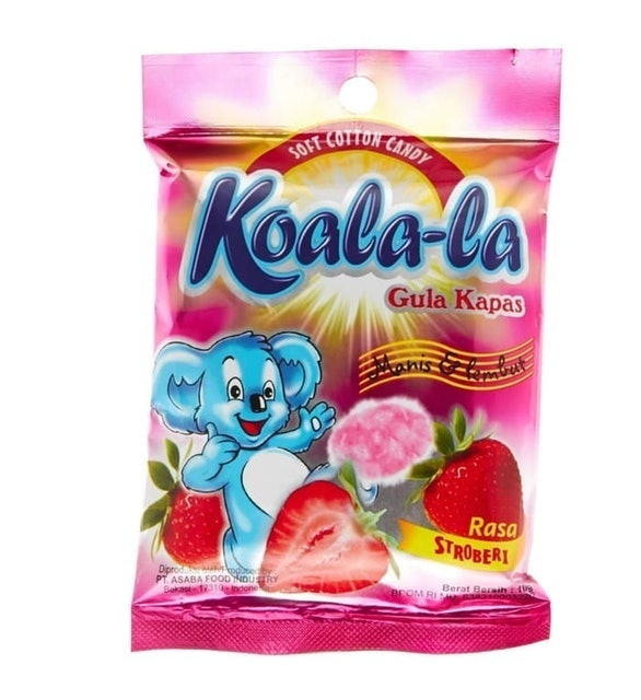 Soft Cotton Candy Koala-la Gula Kapas 1