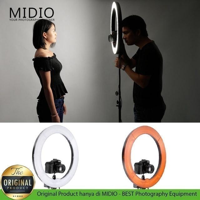 Midio Ringlight 18 inch / 46 cm Midio Dimmable 1