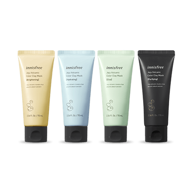 Innisfree Jeju Volcanic Color Clay Mask 1