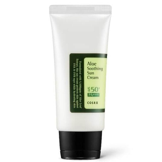COSRX  Aloe Soothing Sun Cream SPF50+/PA+++ 1