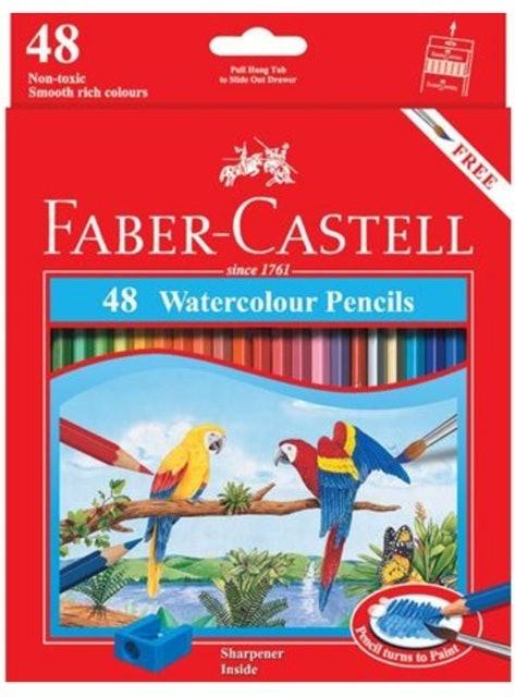 Faber-Castell  48 Watercolour Pencil 1